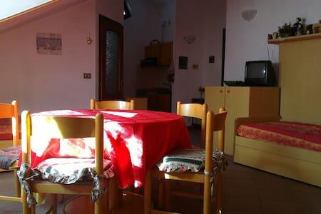 Mansarda arredata in centro paese - Cesana Torinese