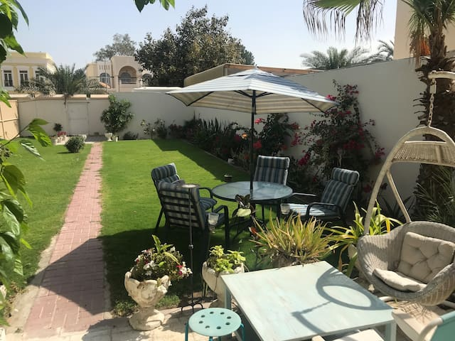 Oasis in Dubai Private Room and a Big Green Garden