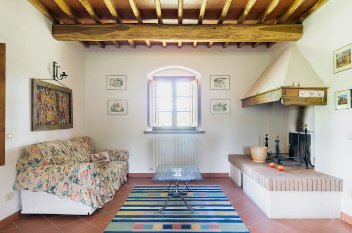 Restored farmhouse in Tuscany - Vepri - House