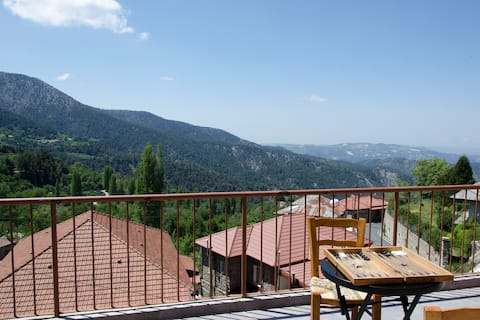 Prodromos House, Best view on Troodos