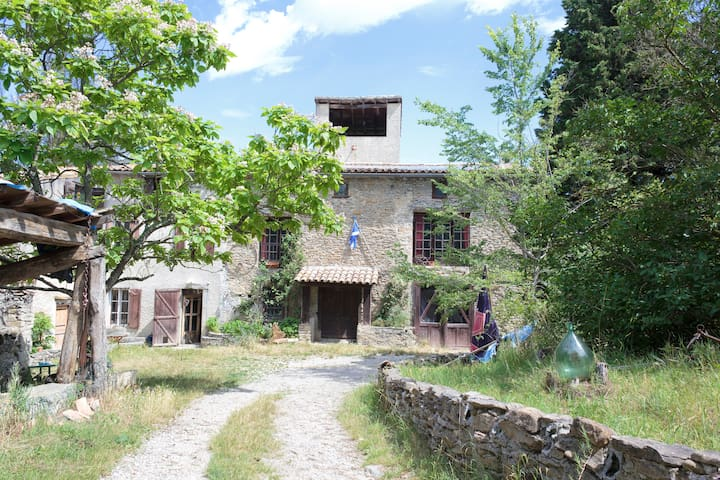 Bed and Breakfast - Saint-Couat-du-Razès - Bed & Breakfast