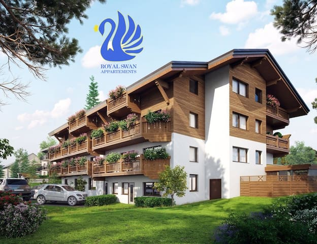 Royal Swan Apartment in Tyrol-your dream vacation!