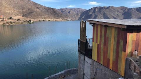 Cabaña Familiar, embalse Puclaro, valle del Elqui