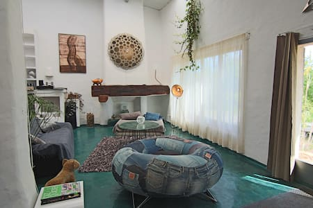 Artist Loft Ibiza with four rooms. - San Rafael - Loft