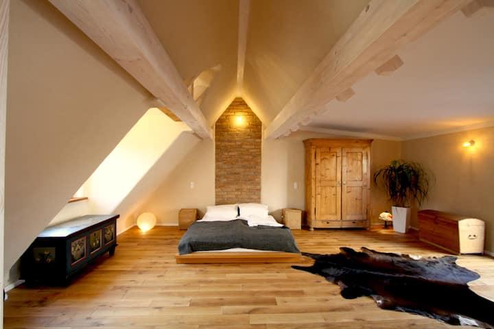 """Altstadthaus """"Hexegässl"""" ökologisch,ruhig,zentral"""