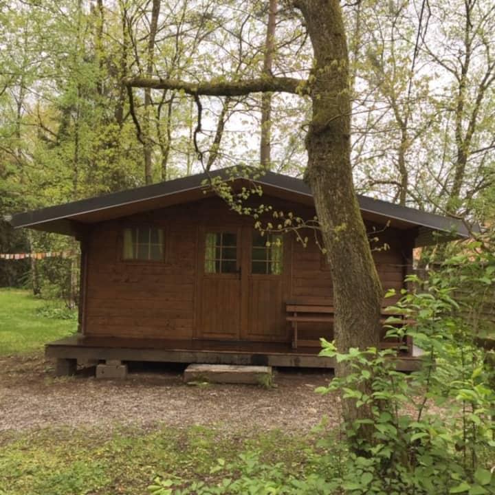 camping wesertal - trekkershut