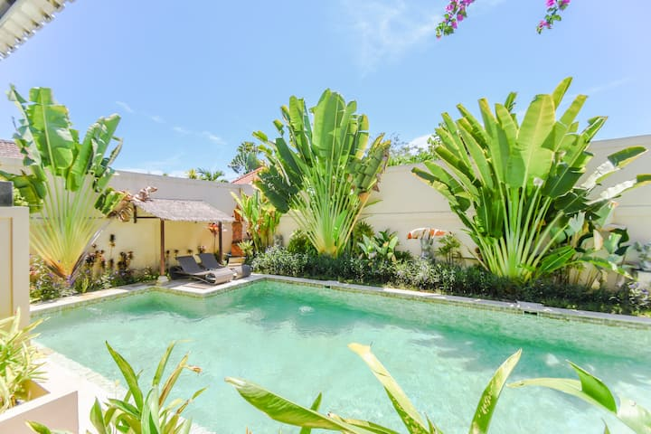 Walking Distance to Sanur Beach, Villa with Pool