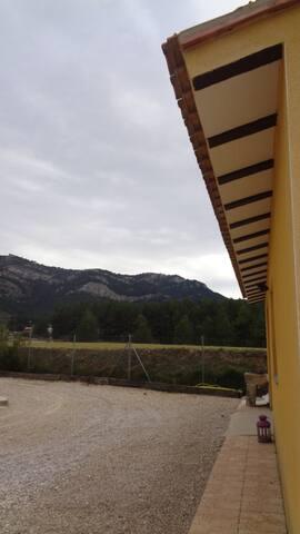 Estudio en Alfafara con vistas a la serra Mariola