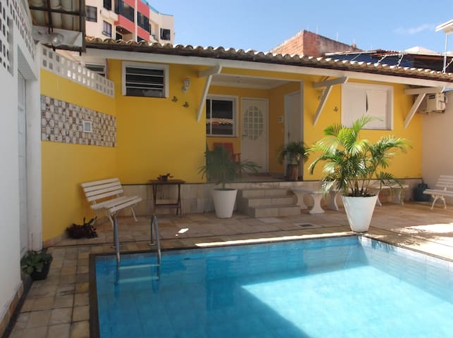 loft 02 varanda e piscina praia Atalaia