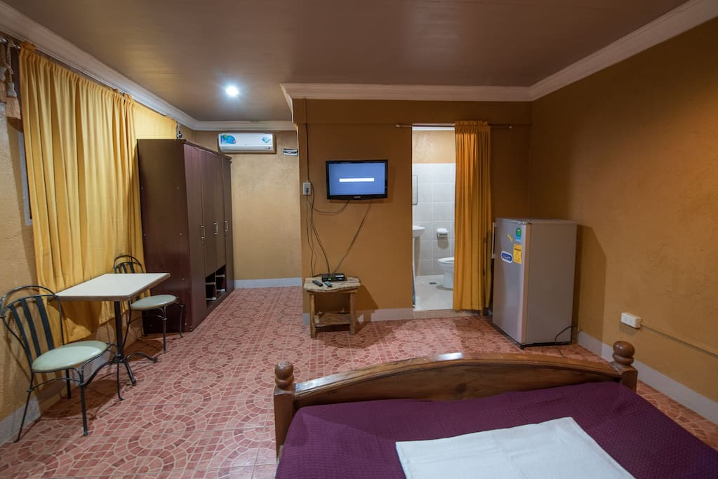Room 11 Cable, Wifi, Ref, Cabinet, Table and Chairs, Split Type Aircon