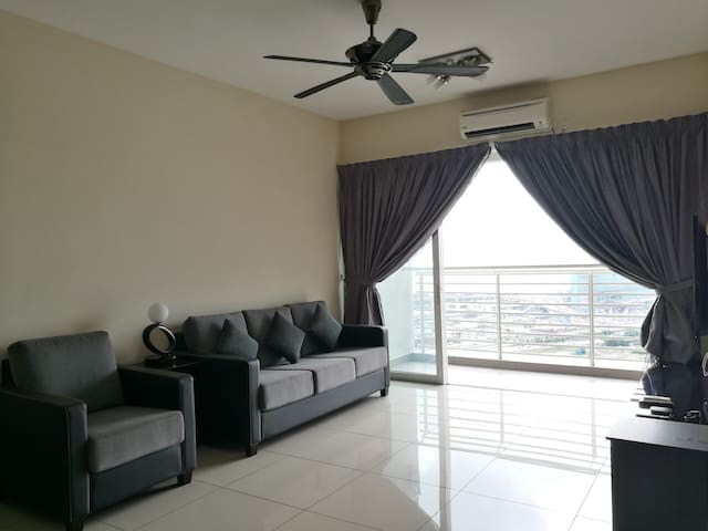 Cozy house with ultimate Seaview @ Harbour Place - Butterworth - Apto. en complejo residencial