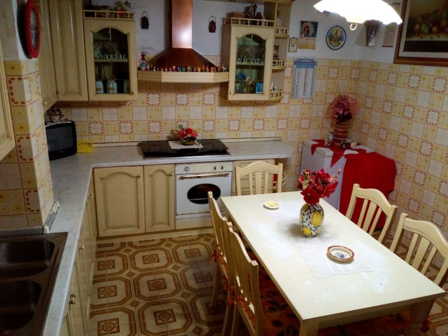 That's the kitchen