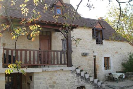 Le Pigeonnier, stone house in Perigord - Haus