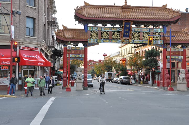 The Heart of Victoria:  Chinatown