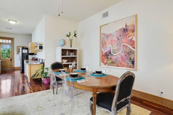 Rare find-Gorgeous apt in Uptown! - Nova Orleans - Apartamento