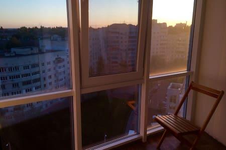 Уютное гнёздышко с панорамным видом - Белгород - Apartemen