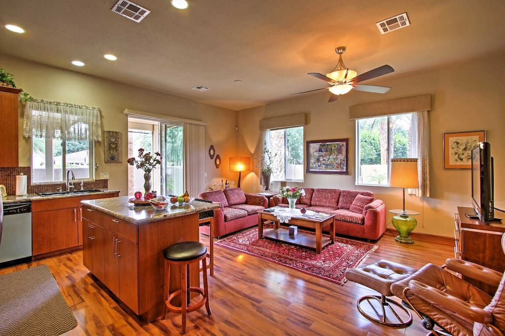 You'll love the inviting  feel of this well-appointed home with 1,300 square feet of space.