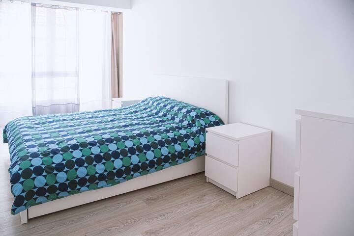 Disfruta Pontevedra desde un luminoso apartamento