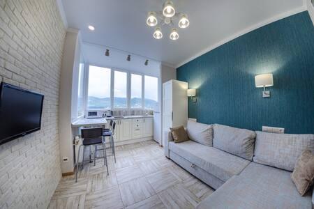 One-bedroom studio in the Olympic Park in Sochi