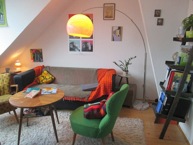 Maisonette Zimmer direkt am Bahnhof Boxspringbett - Hildesheim - Apartmen
