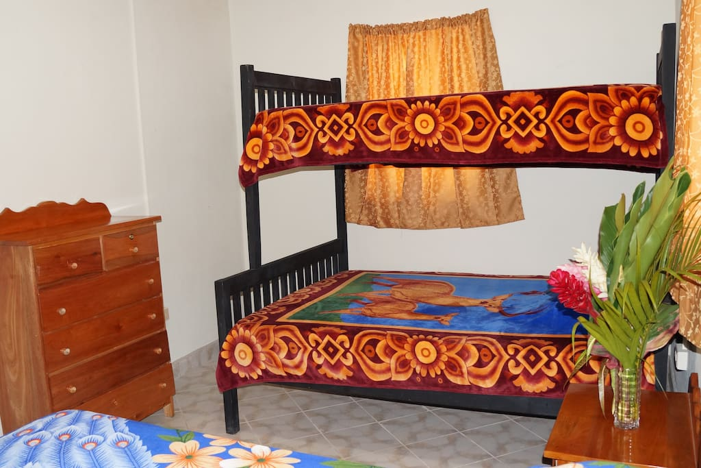 2 Rooms with Bunk Beds , Bottom  is a Double and Top is a Twin