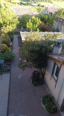 Vue du jardin-terrasse