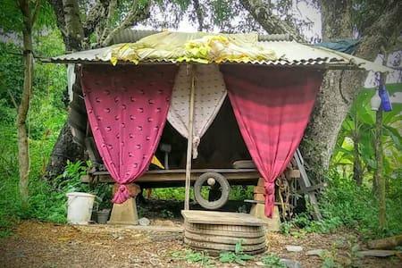 Swinging hut @Cirrus, Goa - Anjuna