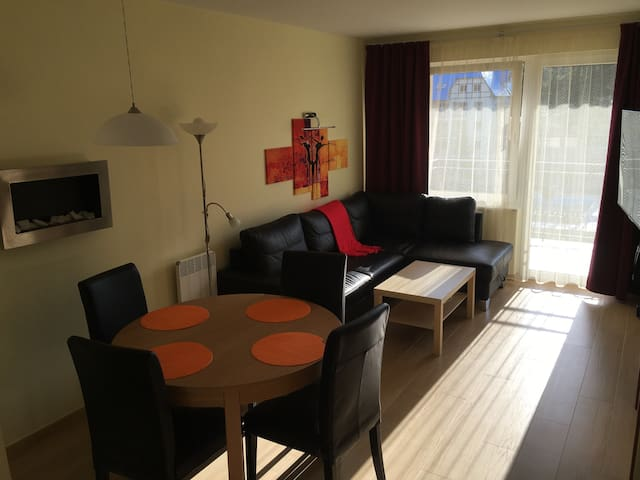 Komfortowy apartament nad morzem - Łukęcin - Appartement