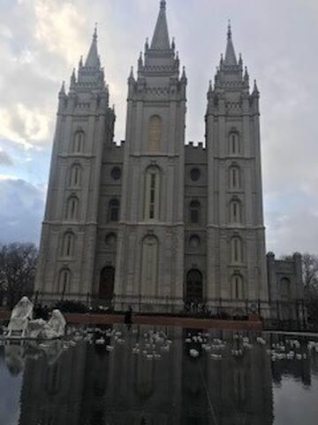 Downtown Salt Lake City at your doorsteps!