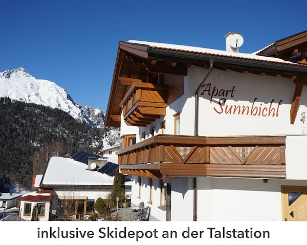 inklusive Ski Depot an der Talstation in Nauders