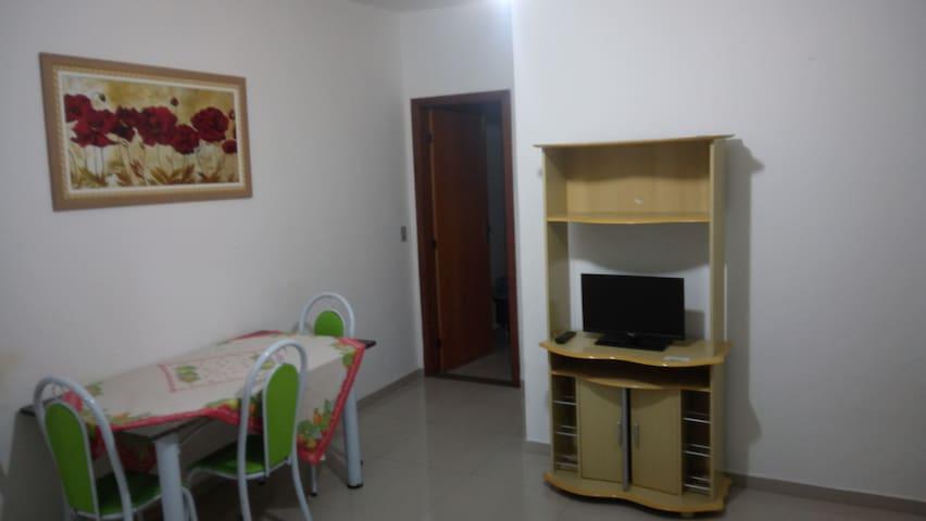 Apartamento 203, Garagem, Wi-fi, Na Praia Do Morro