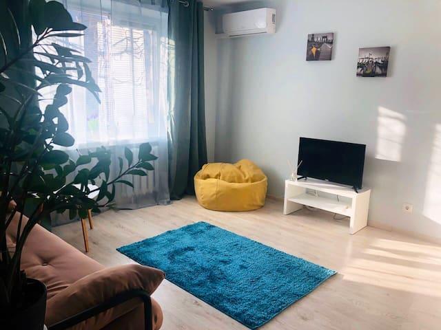 Стильная комфортная квартира в самом центре города