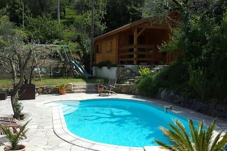 Villa Lou Ni Dou - Wooden Chalet - Saint-Blaise