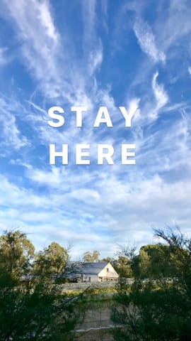 Stay here , the only vineyard stay in East Gippsland