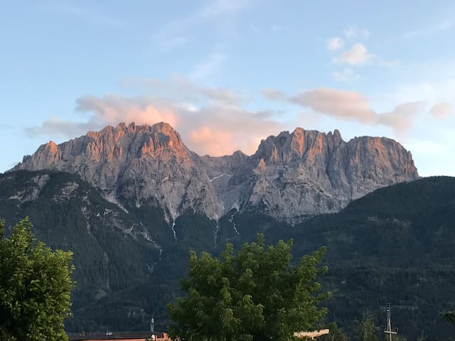 The Dolomiti view