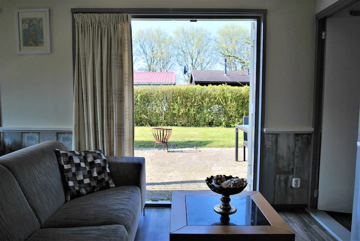 Wonderful Bungalow near by the sea, beach and dune - Warmenhuizen - Cabaña