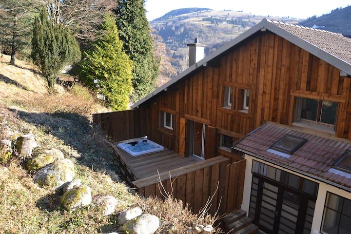 """Gite """"la Maison de Marguerite"""" avec jacuzzi/sauna - La Bresse - Chalet"""