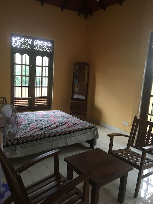 Spacious fully furnished bedrooms