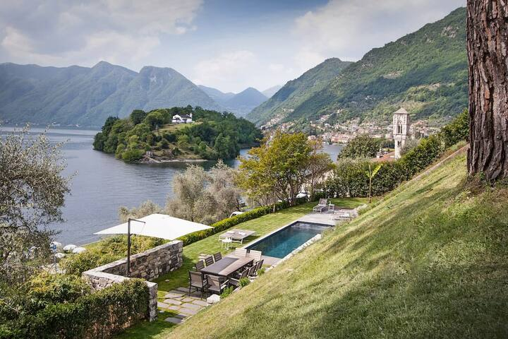 Villa of Brilliance Overlooking the Lake Como