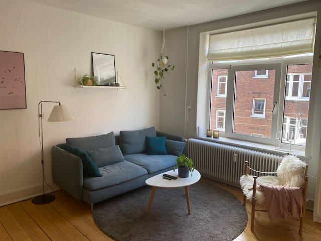 65 kvm skøn central lejlighed i Aalborg