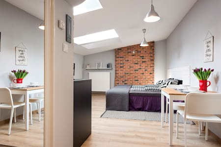 Loft Studio in Krakow Old Town with AC
