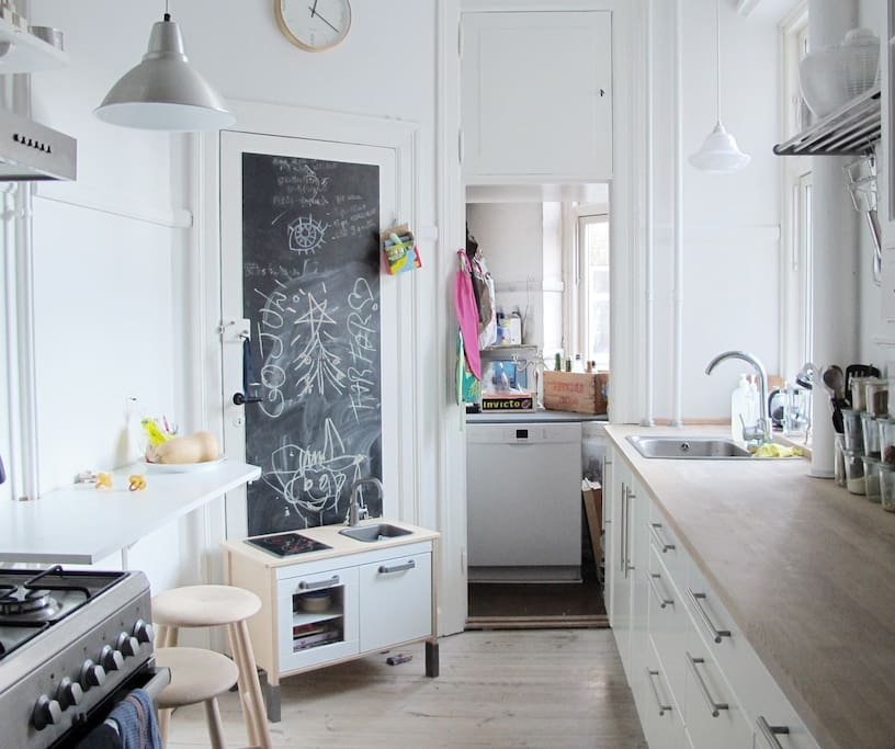 Nice kitchen with everything needed