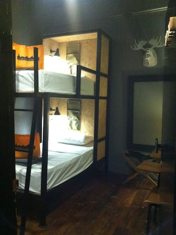 Basic Bunk Bed Room near Wat Pho