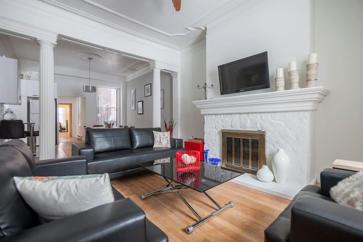 Grand 6BR in Downtown MTL - Montréal - Lejlighed