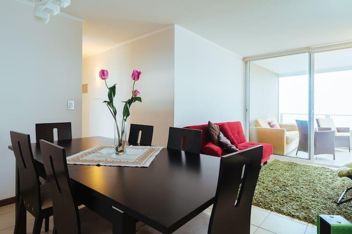 El más hermoso y amplio departamento vista al mar - Coquimbo - Appartement