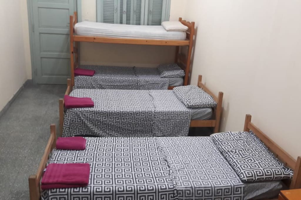 Dormitorios de hasta 4 personas