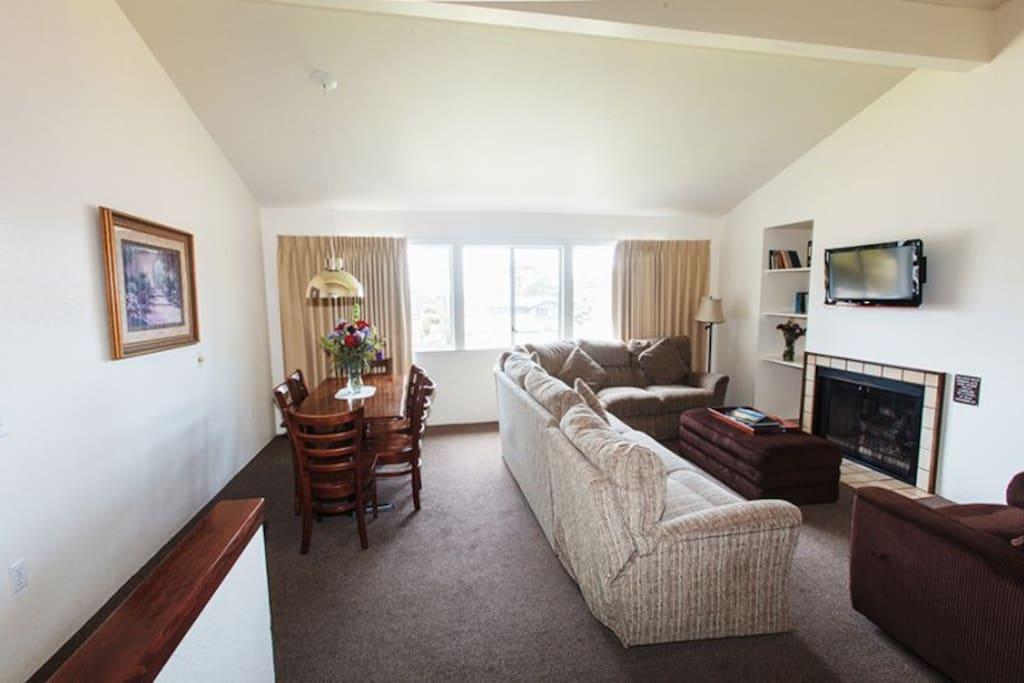 Living Room on Second floor