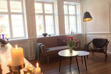 Two Story Apartment in Charming Christianshavn