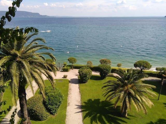 Appartamento vista lago con piscina e spiaggetta - Toscolano Maderno