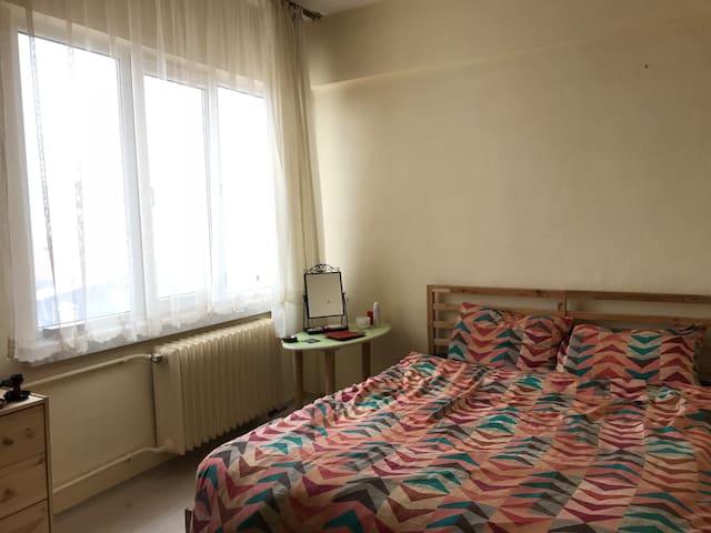 Şehrin merkezinde rahat bir oda